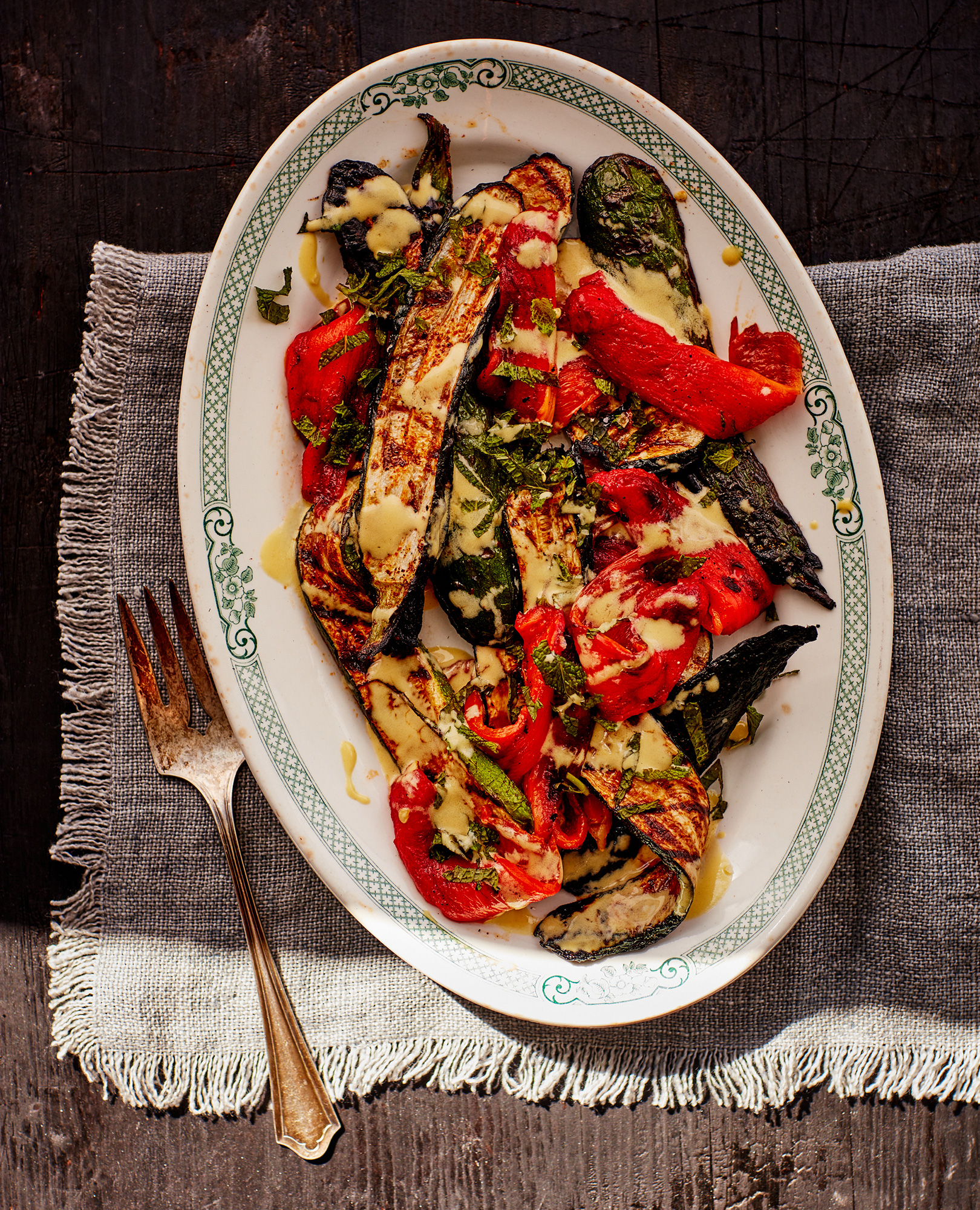 12_Grilled_Zuchini_and_Pepper_Salad_Mint_Vinaigrette_J_Miller_0274