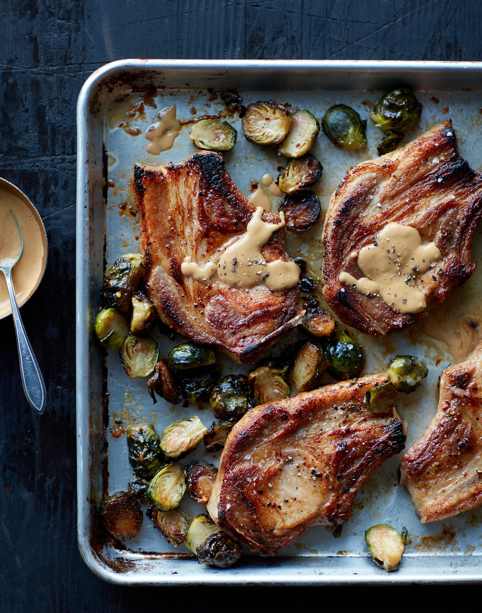 60_Pork_Chops_with_Spicy_Brussels_Sprouts_J_Miller_1483